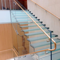 Glass Stairs/Railings